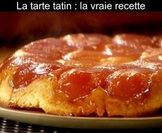 Quick Dessert Recipes, Cake Recipes, Gougeres Recipe, Pear Tarte Tatin, French Deserts, French Dishes, French Pastries, Food Cakes, Recipe For 4