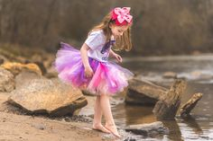Are you planning a unique unicorn birthday party. This is a cute sparkling tutu with and array of colors, making for a precious rainbow tutu outfit. Grab 10% off here --.> http://eepurl.com/cUBjJj