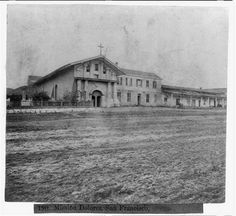 A shot of Mission Dolores. Photo: Library Of Congress/Courtesy