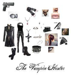 """The Vampire Hunter"" by dragonheartse ❤ liked on Polyvore featuring Lanvin, Yves Saint Laurent, Masquerade, Torrid, Sydney Evan, Overland Sheepskin Co., Abandon Ship and JustFab"