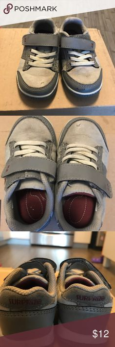 Surprize by Stride Rite barely worn size 6T shoes Stride Rite (Surprize) toddler boys shoes. Worn maybe 4 times. Great shoes just got the wrong size for my little one. Happy to bundle! Stride Rite Shoes Sneakers