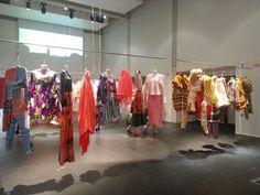 #McrDegreeShow Fashion exhibition section