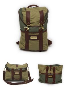 Sword and Plough: Repurposed Stylish Military Tote Bags