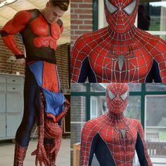 muscle spiderman by spidey. Gay Costume, Cosplay Costumes, Mascot Costumes, Marvel Actors, Marvel Characters, Thor Marvel, Marvel Comics, Spiderman Costume, Superhero Cosplay