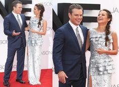 """Londyńska premiera """"Jasona Bourne'a"""" - Matt Damon i Alicia Vikander"""