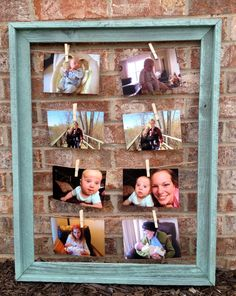 Barn Wood Multiple Picture Frame Rustic by TheMountainBluebird