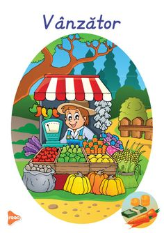 Planșele sunt ilustrate atractiv, reprezintă diferite meserii precum: medic, profesor, actor, fotbalist, grăsinar, fermier, etc. Experiment, Teaching Weather, Preschool Education, Montessori, Playroom, Kindergarten, Bee, Clip Art, Cards