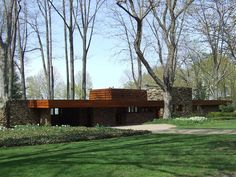 Karl A. Staley House, North Madison OH, 1950, Frank Lloyd Wright