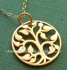 Gold Tree Of Life Pendant Necklace - Buy Tree Pendant Necklace,Cheap Necklaces And Pendants,Gold Tree Of Life Pendant Necklace Product on Al...