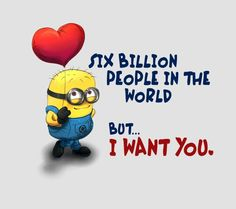 Minions don't only spread laughs and giggles they share love too, here are some cool love quotes from Minions ALSO READ: Top 26 Funny Minions of The Day ALSO READ: 30 Minions Love Quotes Minion Humour, Funny Minion Memes, Funny Jokes, Love Quotes With Images, Best Love Quotes, Romantic Love Quotes, Minion Love Quotes, Minions Quotes, Minion In Love