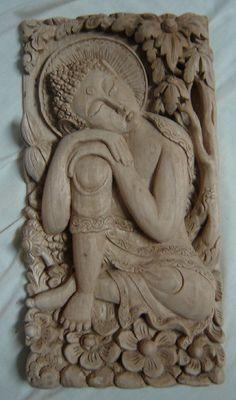 Sublime Buddha.  Carved by Nyoman Sumerta (Nyoman Sumerta Designs)   www.sumerta.com