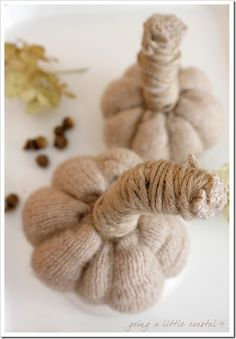 This is a great use for old wool sweaters!  Great idea.
