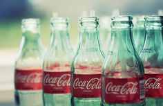 Bottled Coca-Cola, always a treat