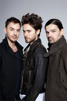 I <3 these guys!! 30 Seconds To Mars!! But he'll always be Jordan Catalano to me too <3