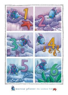 Marcus Pfister collection of books on The Rainbow Fish Rainbow Fish Activities, Rainbow Fish Crafts, Preschool Friendship, Friendship Theme, The Ocean, Rainbow Fish Book, Daycare Themes, Monthly Themes, Beautiful Fish