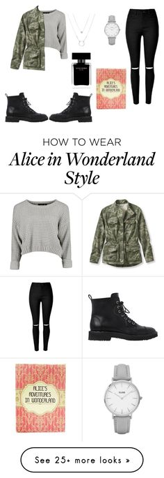 """""""For A Story"""" by destinycreations on Polyvore featuring Giuseppe Zanotti, L.L.Bean, Topshop and Narciso Rodriguez"""