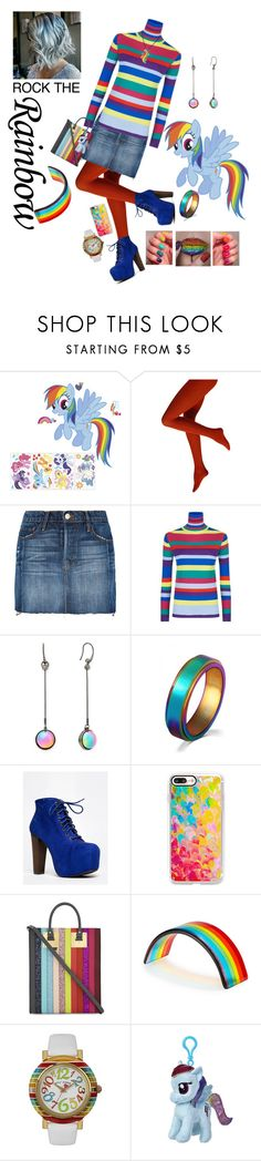 """my mom is cooler than yours 😁"" by nickiefinn ❤ liked on Polyvore featuring York Wallcoverings, Frame Denim, Mira Mikati, Diane Von Furstenberg, WithChic, Speed Limit 98, Casetify, Sophie Hulme, Betsey Johnson and My Little Pony"