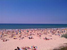 Mimizan Beach. South France