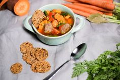 Have you had meatballs in a soup? This bone broth protein meatball soup is made with my bone broth protein to increase the health benefits.