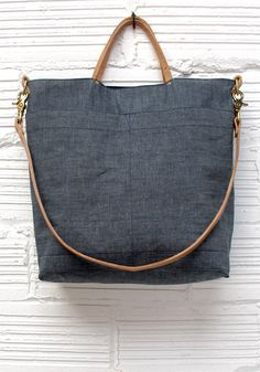 an upcycled denim bag siti tasky pinterest. Black Bedroom Furniture Sets. Home Design Ideas
