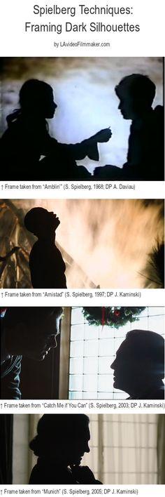 Spielberg's Techniques: Framing Dark Silhouettes