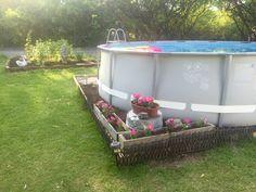 Best INTEX Frame Pool Set Ultra Quadra x Leiter Salz SandFilter Deluxe Reinig Unbedingt kaufen Pinterest