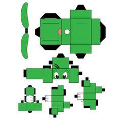 Papercraft Dooly by cyborgspider on DeviantArt Deviantart