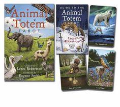 Animal Totem Tarot by Leeza Robertson https://www.amazon.com/dp/0738743488/ref=cm_sw_r_pi_dp_x_j.brybCM7H9DQ