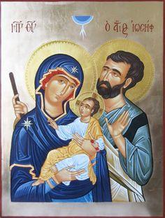 Holy Family by Chiara delle Sorelle Povere - Mola di Bari