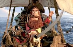"""""""The Pirates! Band of Misfits""""...really want to see this...I love anything from Aardman"""