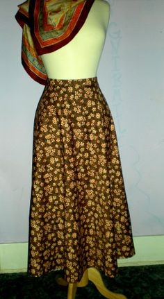 Long Circle Skirt Pattern | Free Sewing Projects