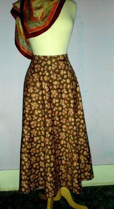 Long Circle Skirt Pattern | Free Sewing Projects