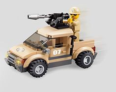 Army Defend Desert Soldiers Military Series Building Bricks Toy Set 79pc Educational Blocks Compatible To Lego Parts - Great Gift For Children *** You can get additional details at the image link.
