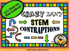 Crazy Zany Contraptions!Take a handful of STEM ideas, stir in simple machines, and add a huge bunch of silliness and you have a recipe for a really fun project.Engineering contraptions inspired by Rube Goldbergs famous cartoons is a fantastic way to review simple machines and forces of energy.