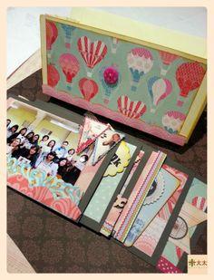 Handmade mini album by Mitaitaiworkshop