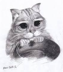 Resultado De Imagen Para Dibujo Gato Arte Con Gatos Dibujos Dibujos De Animales Realistas