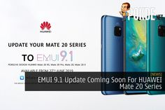 If you're a HUAWEI Mate 20, Mate 20 Pro, Mate 20 X, and Porsche Design Mate 20 RS user, get ready to get the latest EMUI 9.1 update. Filing System, Porsche Design, Coming Soon, Technology News, Leica, Smartphone, Workbox System