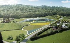 Architizer Blog » Calling All Spelunkers! Snøhetta's Lascaux Cave Replica To Open In 2015
