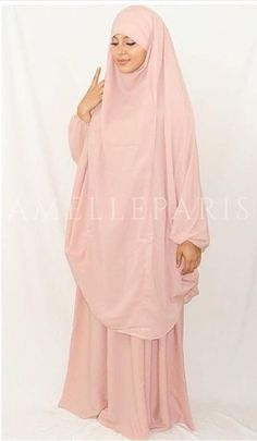 New Spring Collection from Amelle Paris - Jilbab Rose Palé