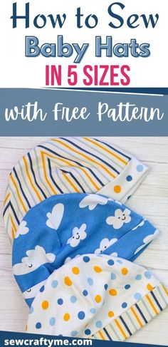 Baby Sewing Projects, Sewing Projects For Beginners, Hat Patterns To Sew, Sewing Patterns, Sew Baby, Baby Boy, Pattern Weights, Preemies, Baby Bonnets
