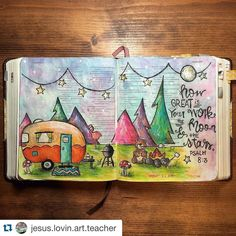"""""""I know that rush feeling but it's so true that we need to pause and reflect on what the Lord has created for us!! #Repost @jesus.lovin.art.teacher with…"""""""
