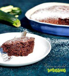 recette gateau chocolat courgette Zucchini, Vegetarian Menu, Best Sweets, 100 Calories, Tiramisu, Banana Bread, Meal Prep, Eat, Cooking