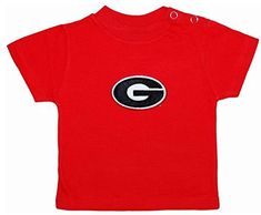 Georgia Bulldogs Red NCAA College Toddler Baby TShirt Tee 3 Toddler *** See this great product. (This is an affiliate link) #BabyBoyTops