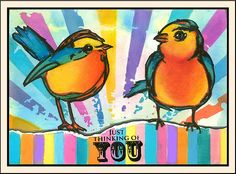 anjas-artefaktotum: Birds are full of vibrant life and energy