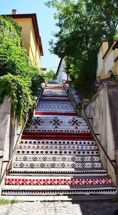 adelaparvu.com despre arta urbana in Targu Mures, Romania, Rakoczi Stairs in Targu Mures City Romania (5)