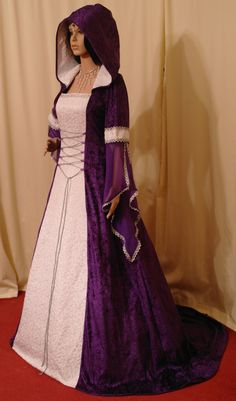medieval handfasting renaissance dress custom made