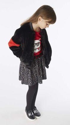 Karl Lagerfeld FW 19/20 Karl Lagerfeld Kids, Punk, Girls, Style, Fashion, Toddler Girls, Swag, Moda, Daughters