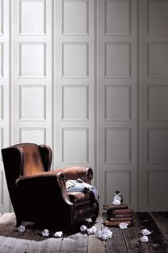 Boiseries moulures Blanches Haussmann by Koziel. Wall covering option for...somewhere? 10x0.53m roll, 36 EUR ea