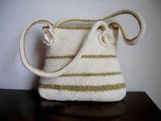 Bolso golden - hecho a mano por Priscilastore en DaWanda