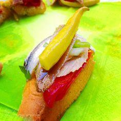 Pinchos! - Pinned by Mak Khalaf Food ComerPinchosZarautz by ramoncarulla